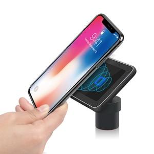 Image 5 - Chargeur de voiture sans fil induction usb mount pour iphone 11 samsung s8 s9 voiture charge support pour téléphone support qi 10W charge rapide SIKAI