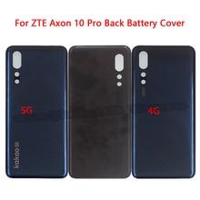 الغطاء الخلفي الأصلي لـ ZTE Axon 10 Pro ، غطاء البطارية ، قطع غيار لـ ZTE Axon 10 Pro