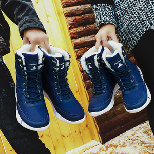 Image 5 - Women Boots 2019 Winter Shoes Woman Snow Boots With Plush Inside Shoes winter Waterproof Plus Winter Boots Rubber Female Booties