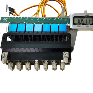 Image 3 - 7CH Directional Valve Hydraulic Oil Valve Controller With Servo for 1/12 RC Excavator Bulldozer Parts