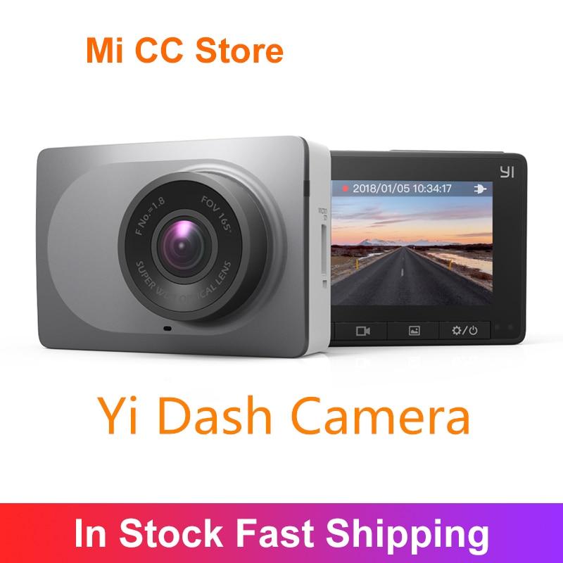 YI Smart Dash Camera Full HD Car DVR Video Recorder WiFi Night Vision 1080P 2.7