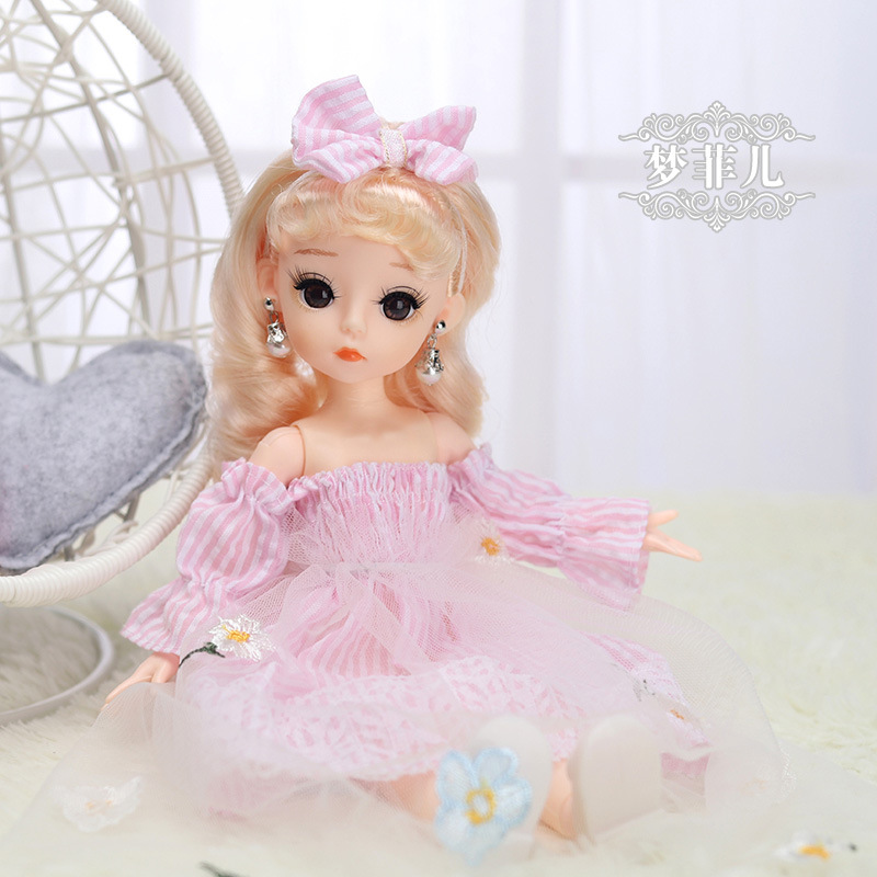 12 Inches Princess 30cm Joints BJD Suit Series Doll Toys for Girls Children Birthday Christmas Gifts 9