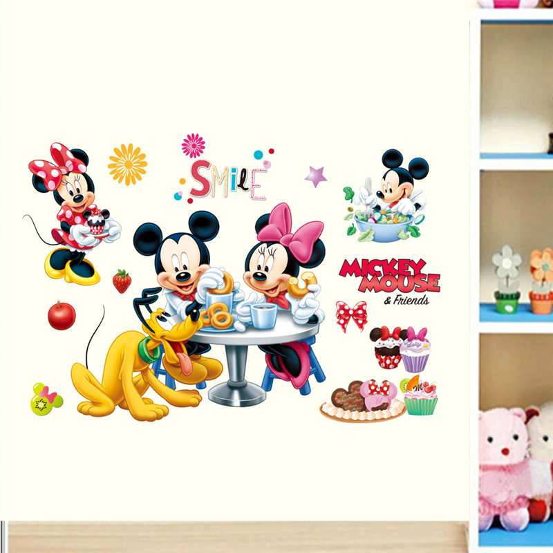 Mickey Minnie mouse Window Decal WALL STICKER Home Decor Art Mural 1