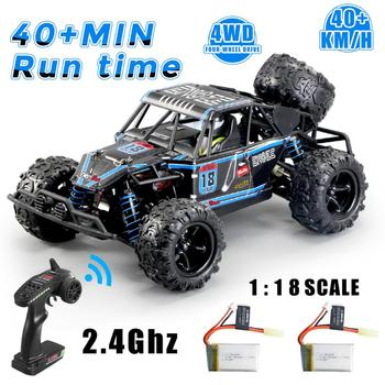 1:18 RC Car 40+km/h High Speed Scale Remote Control Off Road Vehicle Toys For Children Kids Drift wltoys