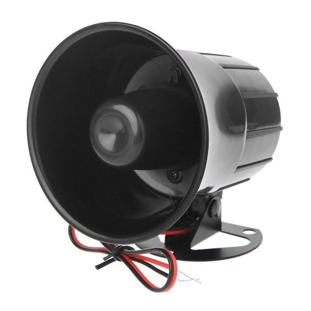 Alarm Horn Wired DC 12V Home Security System Tool Sirene ABS Schutz Laut Sound Lautsprecher Anti-diebstahl Mit bracke Niedrigen Verbrauch