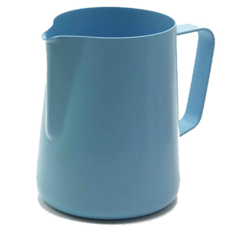Image 4 - 600ml acier inoxydable lait mousseur cruche expresso café pichet  Barista artisanat café Latte lait mousseur pichet 6 couleursLait  Cruches