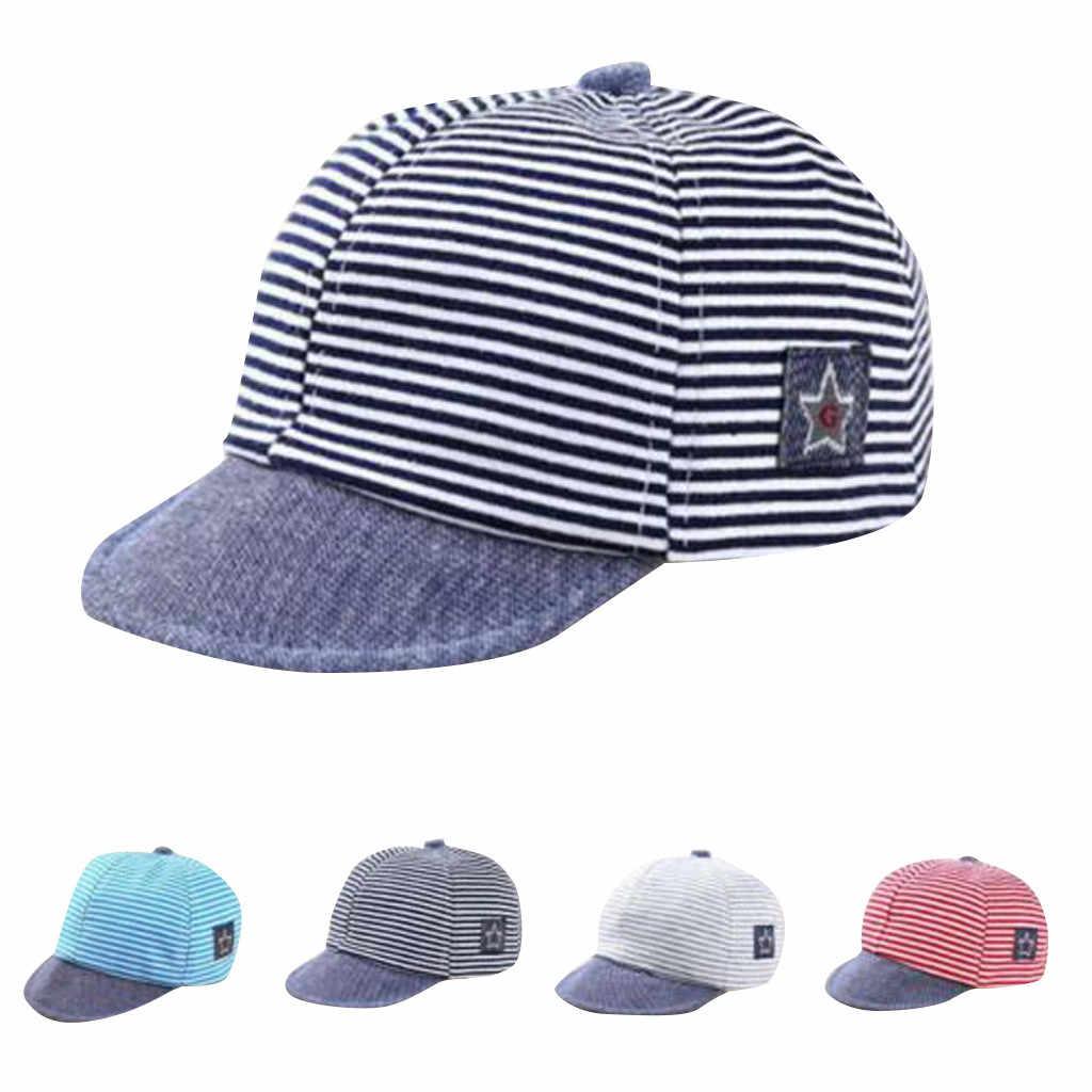 Kapelusz maluch dziecko dziewczyna chłopiec śliczne moda list miękkie wygodne okap na co dzień czapka z daszkiem słońce Beret kapelusz w paski casquette enfant