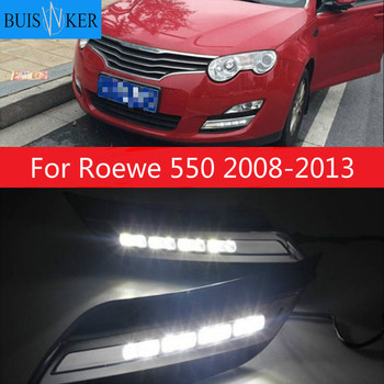 For Roewe 550 2008-2013 daytime light car accessories LED DRL headlight for Roewe 550 fog light