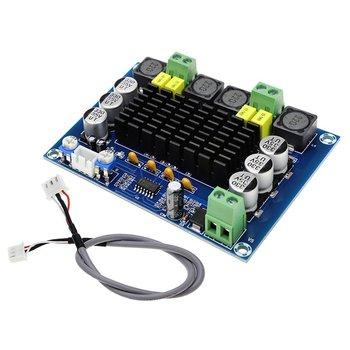 Tpa3116d2 Dual-channel Stereo High Power Digital Audio Power Amplifier Board 2X120W Xh-m543 tpa3116d2 digital audio amplifier board dual channel 80w 2 stereo tpa3116 high power amplifier sound preamplifier tone board amp