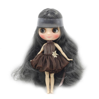 Middle Blyth 1/8 Doll, Matte / Smooth Face, Nude 20 Joints Body, Curly Hair, 20cm Special Offer Gift Toy BJD on Sale Lower Price