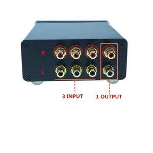 Image 4 - HIFI السلبي إدخال الصوت إشارة محدد مصدر محدد الصوت إشارة الجلاد صندوق الصوت إشارة الخائن 3 في 1 خارج/3 طرق في