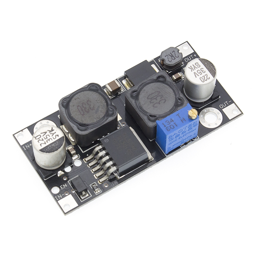 Image 4 - 10pcs XL6019 (XL6009 upgrade)) Automatic step up step down DC DC Adjustable Converter Power Supply Module 20W 5 32V to 1.3 35V-in Integrated Circuits from Electronic Components & Supplies