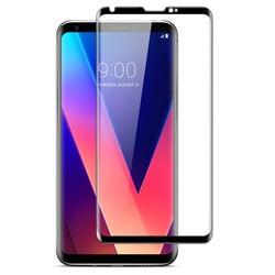 IMAK na telefony komórkowe dla LG V30 szkło hartowane 3D zakrzywione pełna osłona ekranu dla LG V30 szkło ochronne do LG V30 + h930