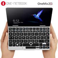 Um netbook uma mistura 2 s bolso pc intel core M3-8100Y 7 polegada 1920*1200 ips 8 gb 256 gb pcie ssd windows 10 wifi usb 3.0 notebook