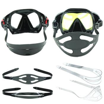 High Elasticity Silicone Universal Diving Mask Strap Snorkeling Cover Replacement Freediving Hair Protector