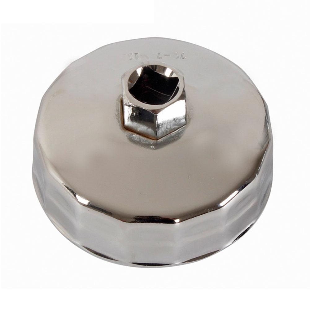 74mm Socket Cap Remover Accessories Wrench Steel Durable Rustproof Car Oil Filter Repair Tool For Kia K2 K3