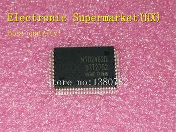 Free Shipping 20pcs/lots RTD2482D-GR RTD2482D  RTD2482  QFP-128 % New original  IC free shipping 20pcs l7805c2t l7805 to 263