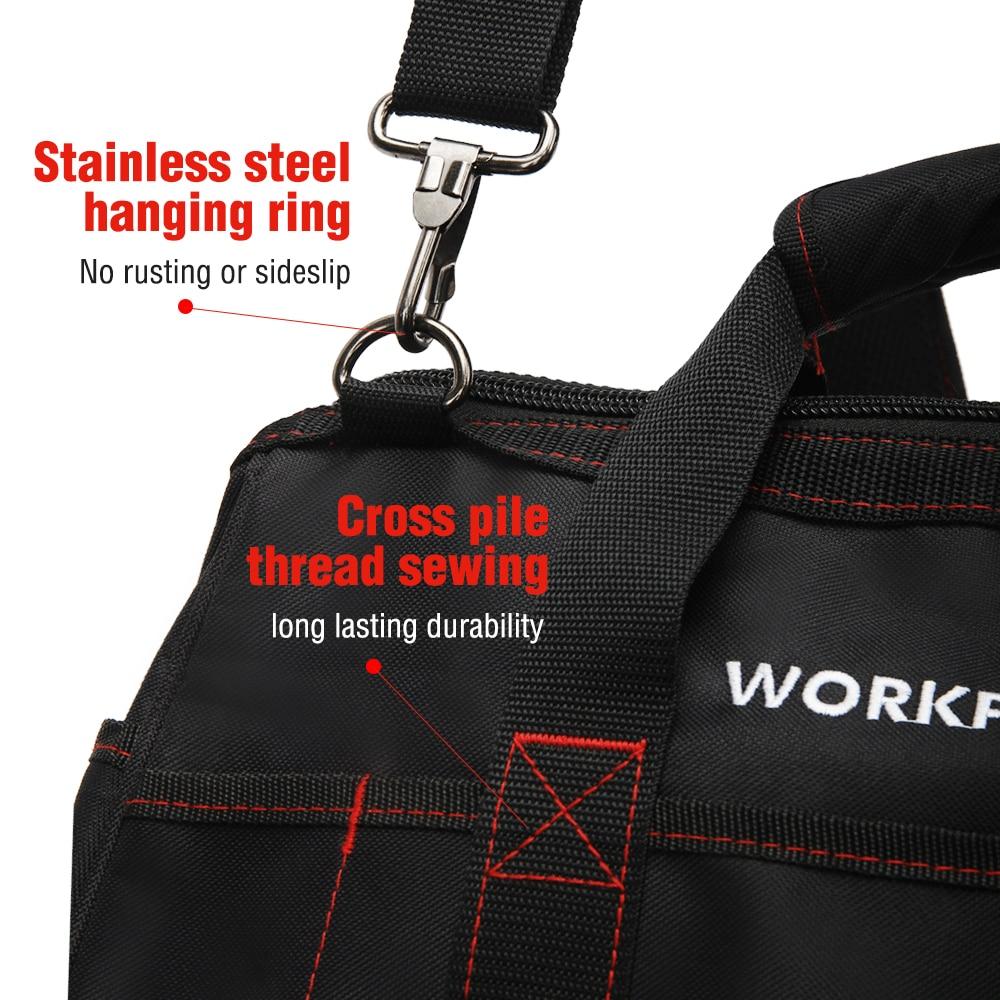 """""""WORKPRO"""" įrankių krepšiai, nešiojami vandeniui atsparūs - Įrankių laikymas - Nuotrauka 3"""