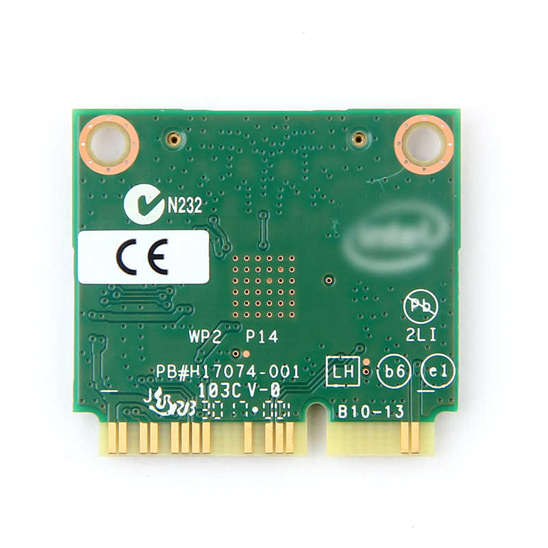 Dual band kablosuz-ac 7260HMW 7260ac PCI-E 802.11ac WiFi BT 4.0 Mini Wlan kart 2.4G/5Ghz 2x2 WiFi + Bluetooth 4.0 adaptörü anten