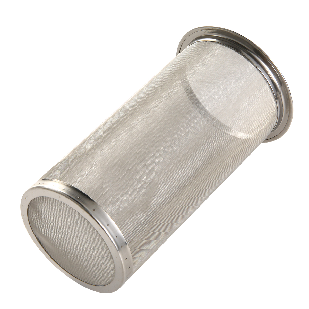 Reusable Wide Mouth Mason Jars Mesh Strainer Cylindrical Stainless Steel Filter Basket Tool For DIY Cold Brew Coffee Maker