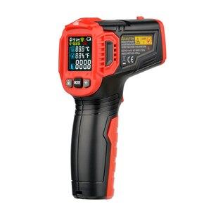 Image 4 - Habotest HT650C Temperatuur vochtigheidsmeter Hygrometer Digitale Termometer Infrarood Laser Thermometer Weerstation
