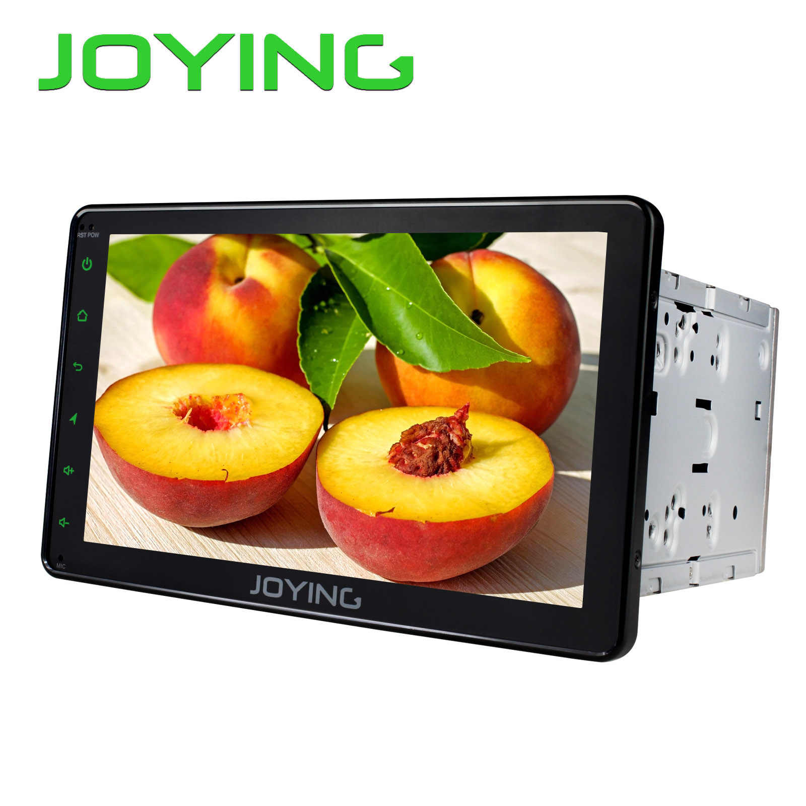 JOYING 2 Din Auto Radio 2GB Android 8.1 Octa Core GPS Ontvanger WIFI 8 inch HD display ondersteuning Spiegel link/Voice Command head unit