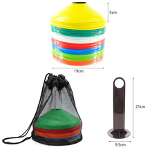 Sports-Accessories Football Marker-Discs Entertainment Cones Saucer Soccer Training 19cm