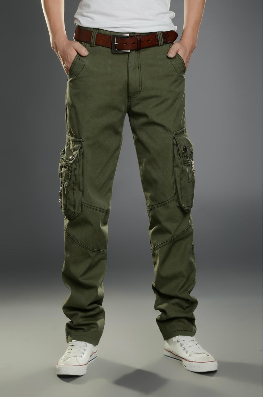 Outdoor Military Men's Clothing Men's Trousers Men Multi-Pocket Wearable Tactical Pants Multi-Pockets Men Women's Pants