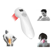 цена на 510mW 650nm and 808nm LLLT Cold Laser Therapy Device Powerful Handheld Pain Relief with Laser Goggles Glasses