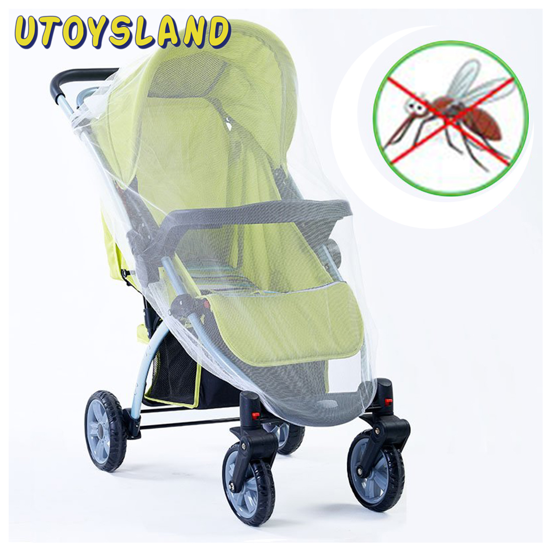 Mosquito Net Baby Infants Baby Stroller Mosquito Net Mesh Bee Pushchair Cart Insect Cover Baby Crib Netting