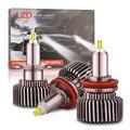 Автомобильные светодиодные фары KAFOLEE 360 лм CANBUS H7 лампы 9005 H1 LED H11 H8 H9 9006 HB3 9012 HB4 6000 HIR2 K автомобильная лампа турбоосвещение