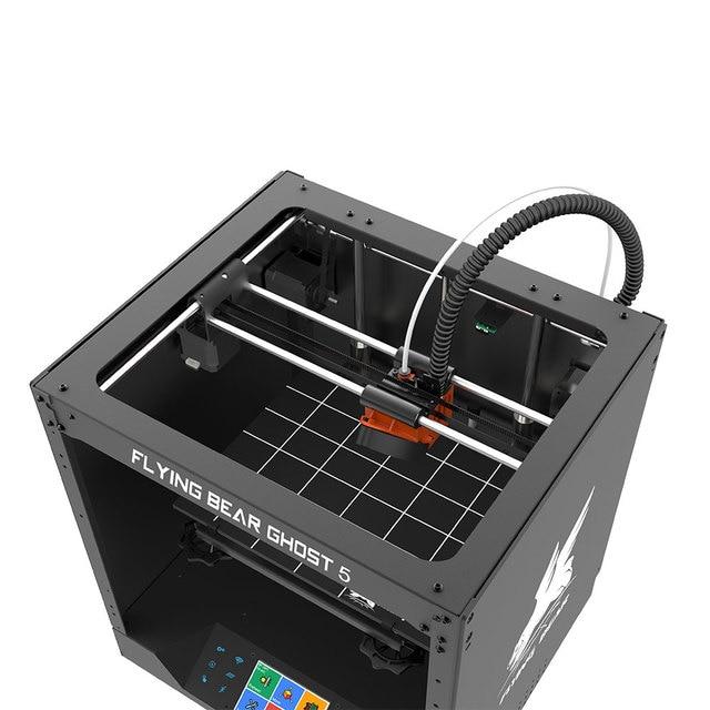 Newest Design Flyingbear-Ghost 5 full metal frame High Precision DIY 3d printer Diy kit glass platform Wifi 5