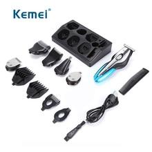 11 In 1 Professionele Elektrische Tondeuse Mannen Baard Trimmer Scheermes Styling Tools Oplaadbare Haircut Machine Tondeuse 40D