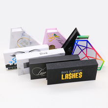 Mangodot Mink Eyelashes Cases 1pcs Custom Packing Magnetic Gift boxes Diamond False Lashes Package Makeup Cosmetic Case