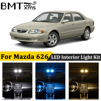 BMTxms For Mazda 626 GD GE GF 1988-2002 Canbus LED Interior Map Dome Trunk License Plate Bulb Auto Lamp Accessories image