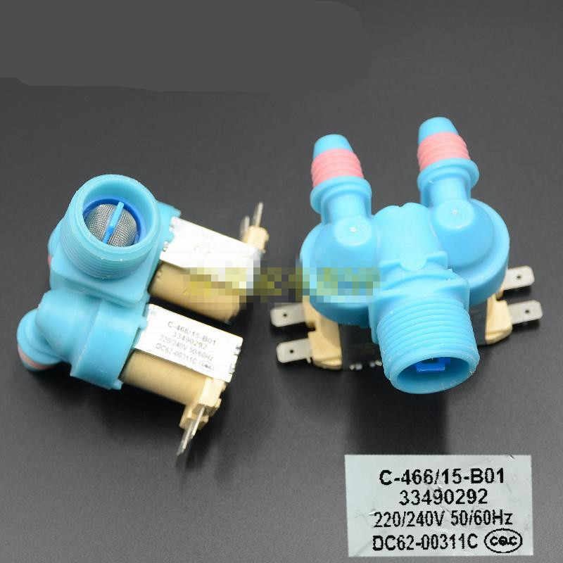 1pcs Washing Machine Water Inlet Solenoid Valve For Samsung Dc62 00311c Inlet Valve Aliexpress