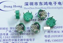Y8 potenciômetro b500 ohm b501 comprimento do eixo 1.5mm pequeno potenciômetro ajustável rotativo