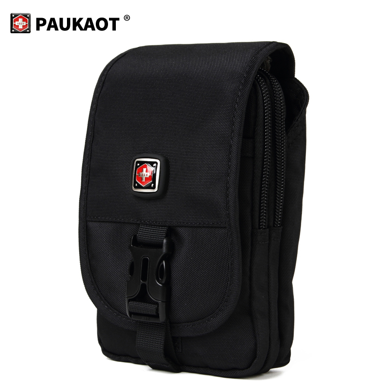 PAUKAOT Tactical Bum Bag Fanny Packs Men's Wallet Belt Bag Waist Bags Phone Pouch Outdoor Camping Holder Large