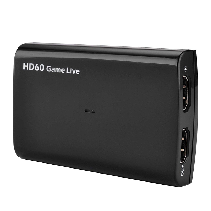 4K Hdmi Input And Bypass Usb3.0 Uvc Game Capture With Microphone Input, Record Up To 1080P 60Fps Hdmi To Uvc Video Capture Card