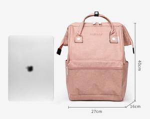 Image 5 - リネン耐久性のあるノートパソコンのバックパック旅行のバックパック大おむつバッグドクターバッグ学生ショルダーバッグスクールバックパック女性 & 男性