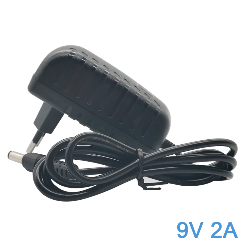 <font><b>Power</b></font> Supply <font><b>9V</b></font> 2A 18W Charger <font><b>AC</b></font> to DC <font><b>Adapter</b></font> for Arduino UNO R3 Crosley Cruiser Portable Turntable Record Player 5.5mm x 2.1m image