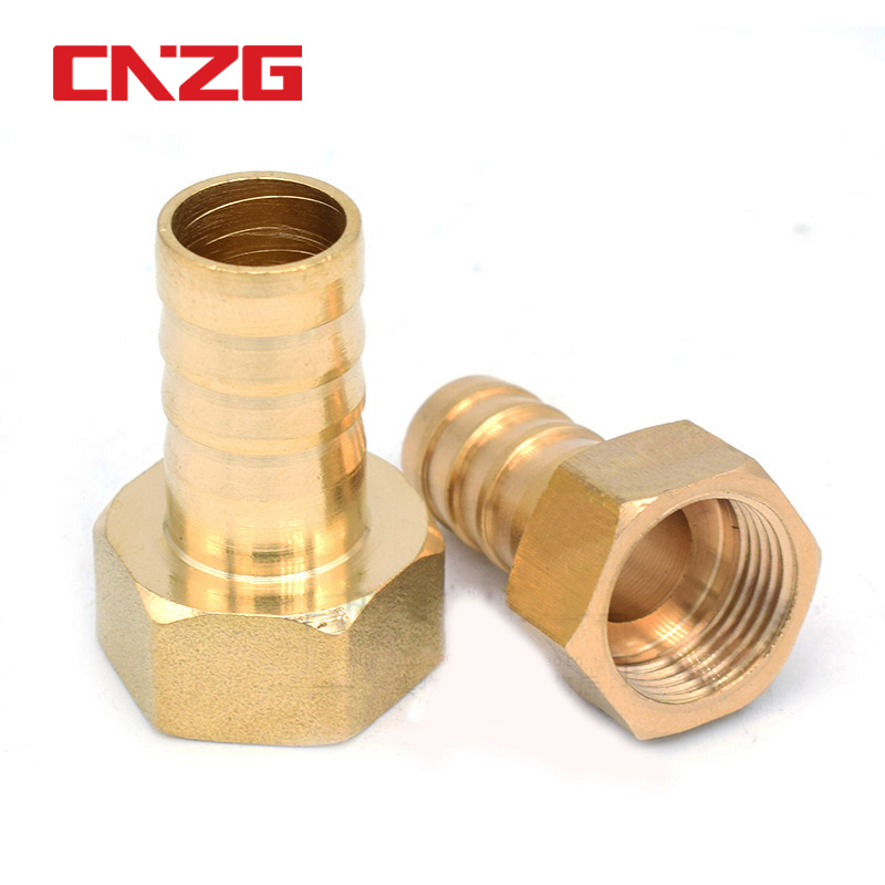 Brass Hose Pipe Fitting Couping 4 6 8 10 19 Barb Tail 1/8 1/4