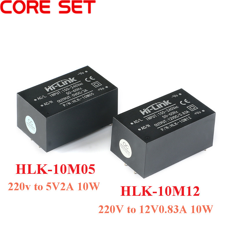 AC-DC <font><b>isolated</b></font> switching <font><b>power</b></font> supply <font><b>module</b></font> 220v 5V/ 10W 2A step down <font><b>power</b></font> supply <font><b>module</b></font> AC DC converter HLK-10M05 HLK-10M12 image