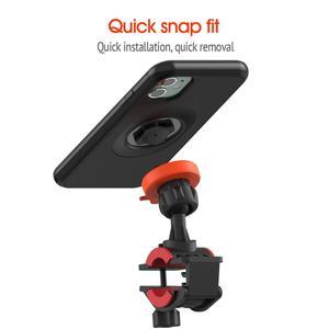 Image 2 - אופני אופניים אופנוע כידון הר מחזיק טלפון סלולרי תיק Bracke עם עמיד הלם מקרה הגנת Stand עבור iPhone 11 Pro מקסימום