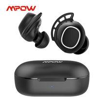 Mpow M30 настоящие беспроводные наушники Bluetooth 5,0 TWS iPX7 водонепроницаемые 25 ч Talktime левый/правый моно Сенсорное управление для iPhone 11 Xiaomi
