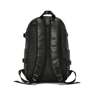 Image 3 - Kudian クマ男性バックパック防水バックパックファッション pu レザー旅行バッグカジュアルスクールバッグティーンエイジャーランドセル BIX301 PM49