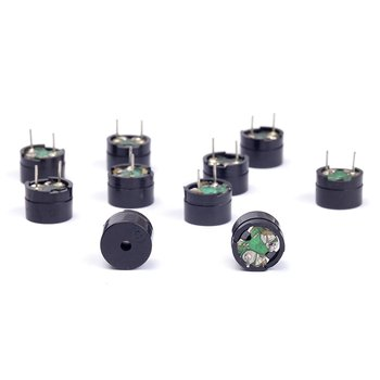 10 sztuk pasywny brzęczyk AC 12MM x 8 5MM 12085 42R odporność 3V 5V 9V 12V w powszechne zastosowanie Mini Piezo Buzzers dla Arduino Diy elektroniczny tanie i dobre opinie CN (pochodzenie) 42 ohms Passive Buzzer AC 12MMx8 5MM 12085 42R Resistance Mini speaker