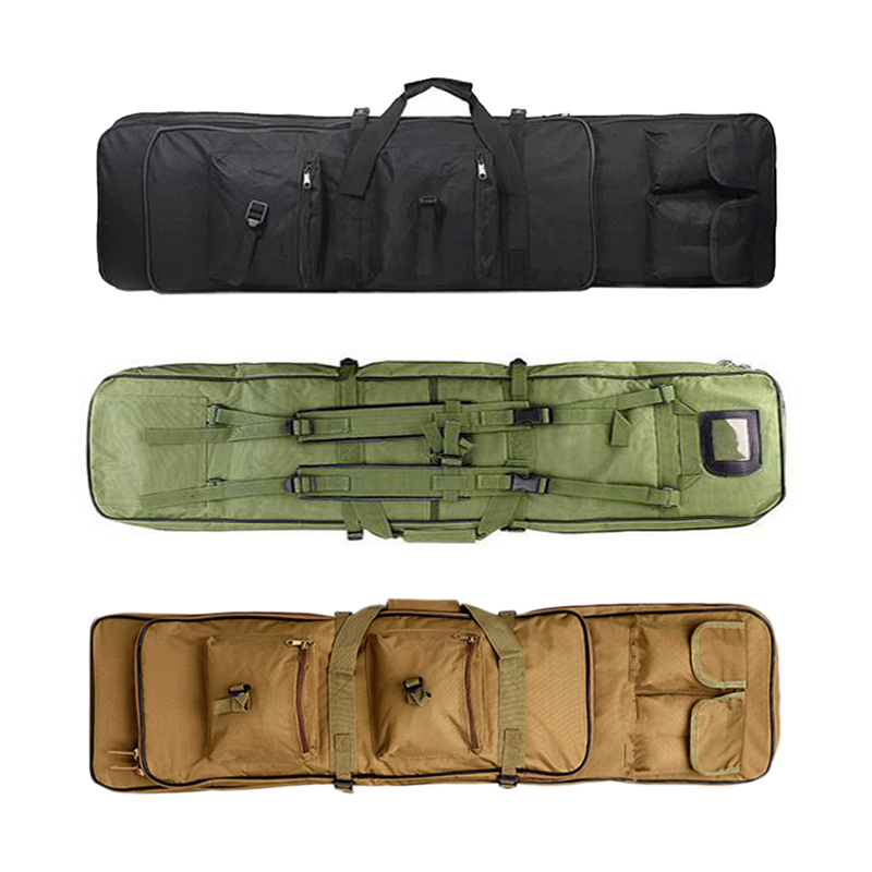 85 96 120 Cm Nylon Gun Bag Case Rifle Backpack Fishing Bag Airsoft Holster Bags Portable Shoulder Tactical Military Double Pack