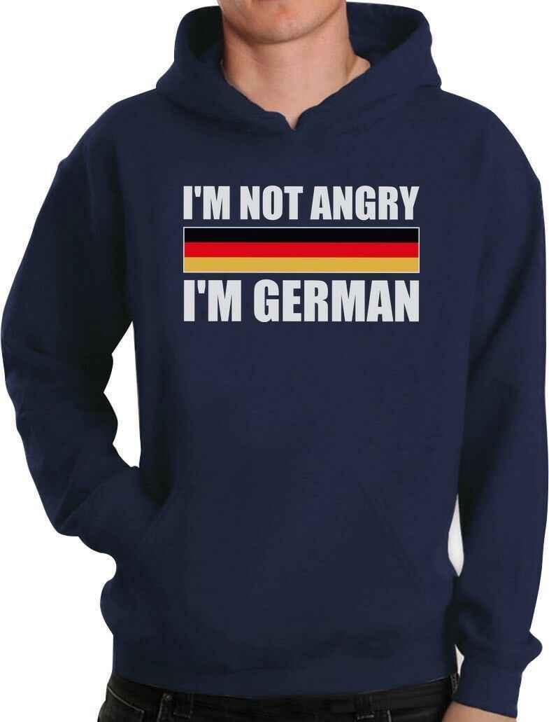 أنا لست غاضب ، أنا الألمانية مضحك مهرجان أكتوبر هوديي ألمانيا العلم
