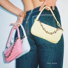 Модные женские мини сумочки багет Красочные Сумки из искусственной